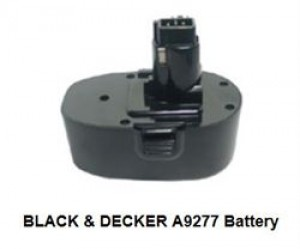 Black & Decker batteri 18v