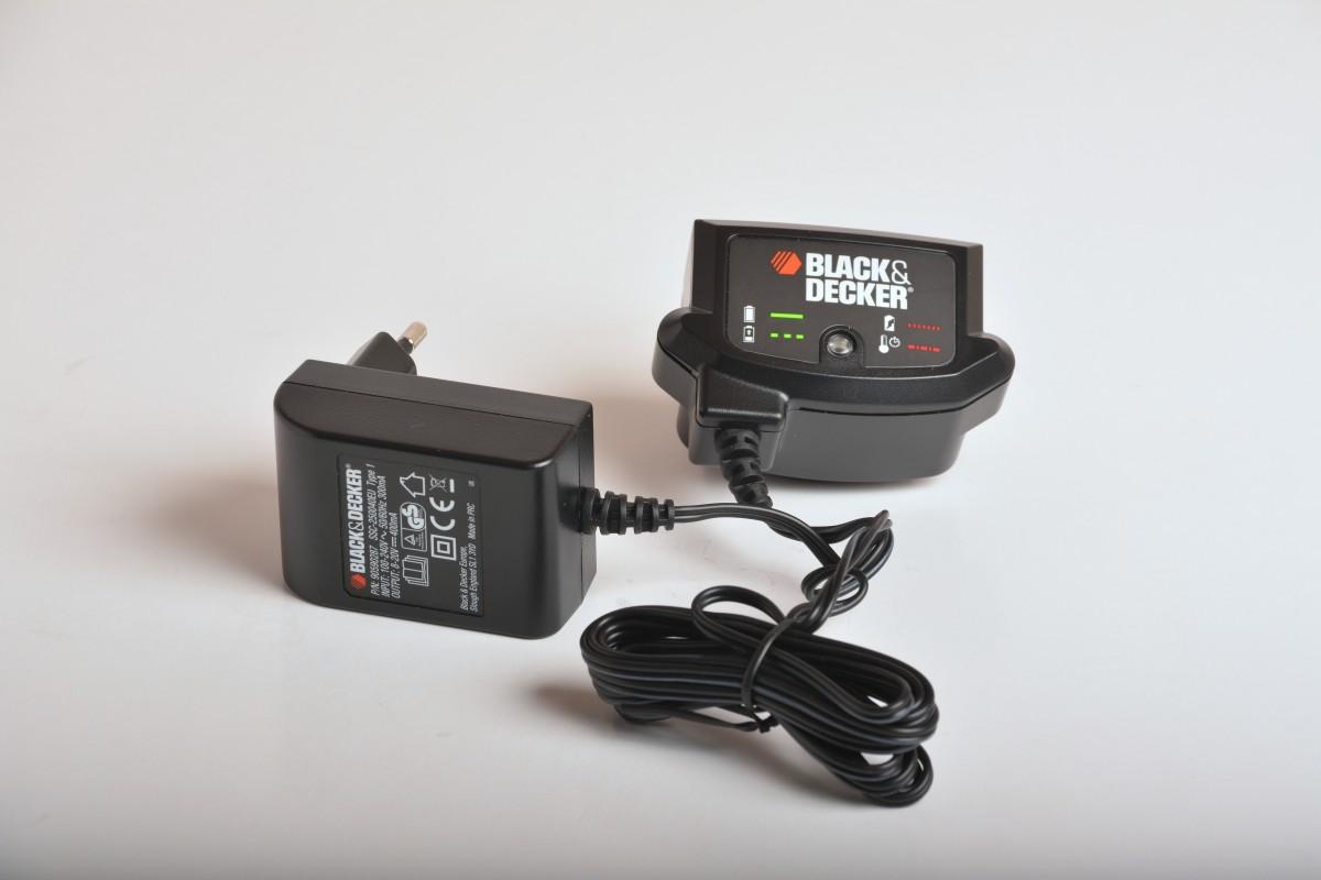 Seriøst B&D Batteri och Laddare ZC34